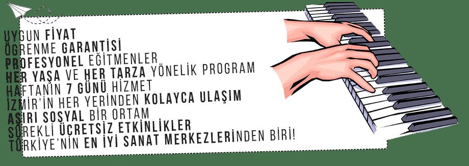 Piyano Kursu İzmir Karşıyaka | Piyano Öğrenme Garantisi