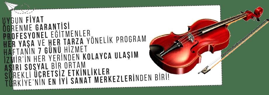 İzmir'de Ucuz Keman Kursu