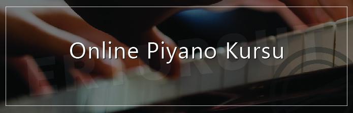 Online Piyano Kursu