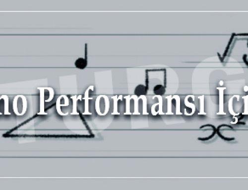 En İyi Piyano Performansı İçin Formüller
