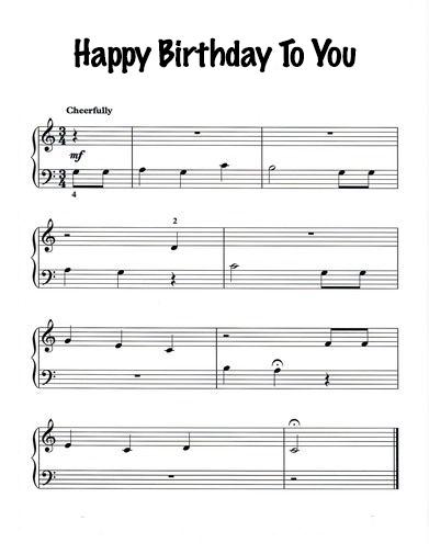 Piyano İle Çalınabilecek En Kolay Şarkılar Ve Notaları