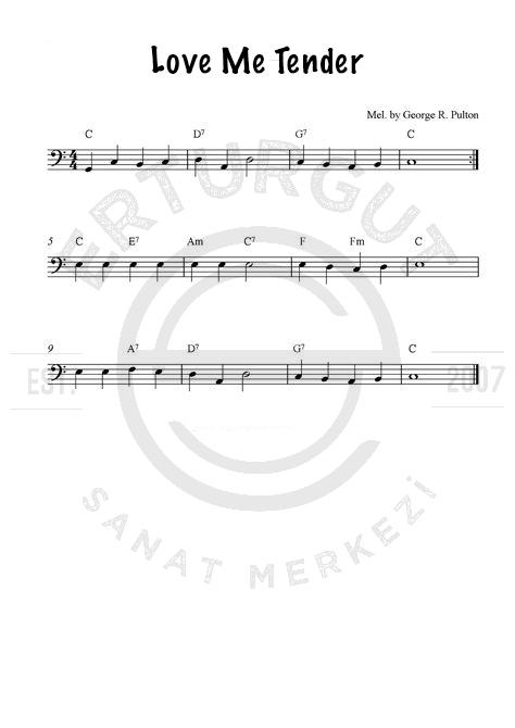 Çello İle Çalınabilen Kolay Şarkıları Ve Notaları