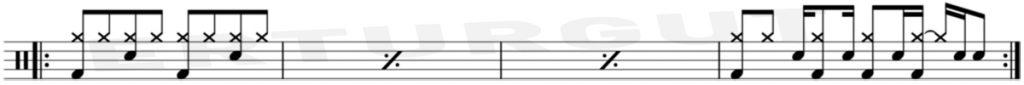 10 Kolay Bateri Şarkısı Ve Notaları