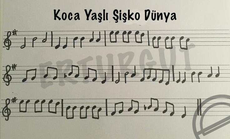 Yan Flüt İle Çalınabilecek Kolay Yan Flüt Şarkıları Ve Notaları