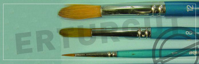Resim Fırçaları Ve Numaraları