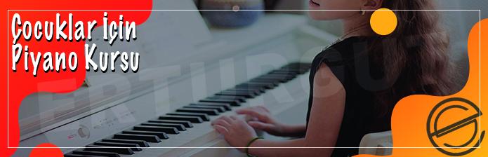 Çocuklar İçin Piyano Kursu