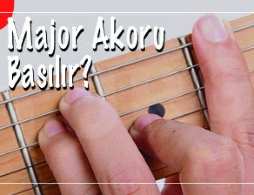 F# – Fa Diyez Majör Akoru Gitarda Nasıl Basılır?