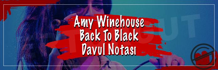 Amy Winehouse - Back To Black Davul Notası